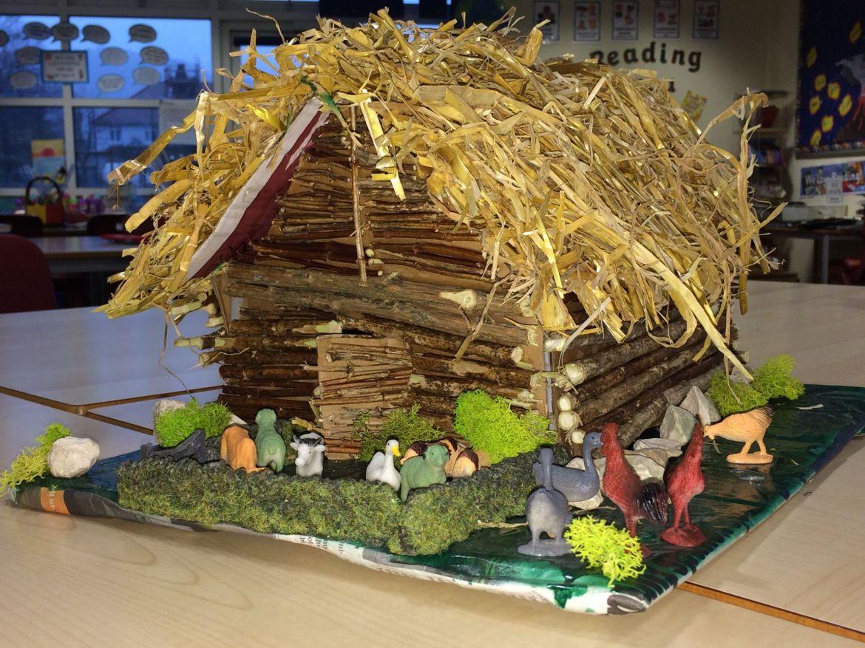 A Viking Longhouse